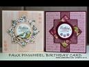 No 494 Faux Pinwheel Card JanB UK 7 Top Stampin' Up Independent Demonstrator