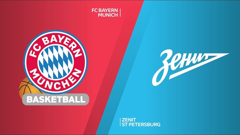 FC Bayern Munich - Zenit St Petersburg Highlights | Turkish Airlines EuroLeague, RS Round 13. Евролига. Обзор. Бавария - Зенит