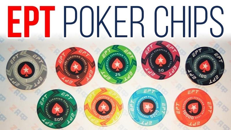 EPT Ceramic Poker Chips PokerStars