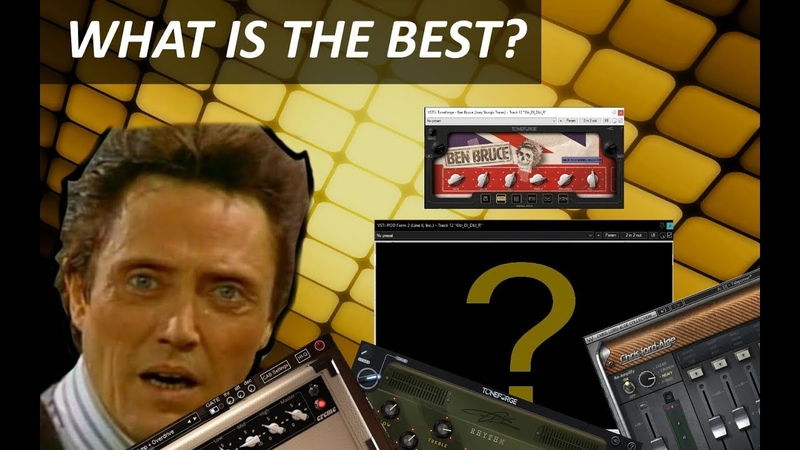 VST GUITAR AMP SIMS PLUGINS COMPARSION WHAT IS THE BEST IN DJENT