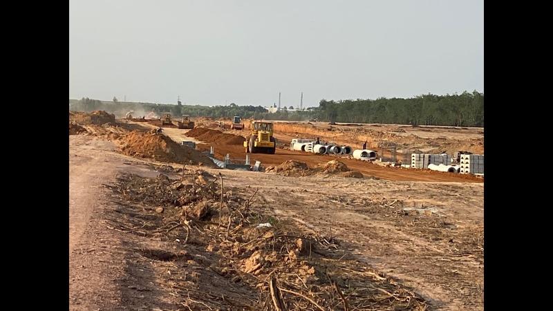 Cập nhật tiến độ dự án đất nền khu đô thị Gem Sky World Đất Xanh Long Thành - Update 07042020