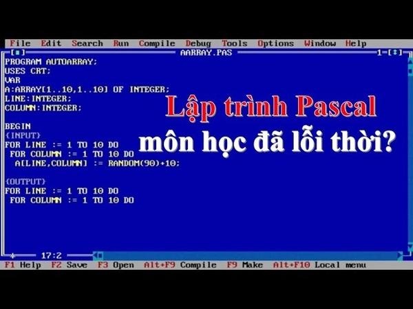 Lập trình Pascal môn học đã lỗi thời trong trường phổ thông? ❤ Việt Nam Channel ❤