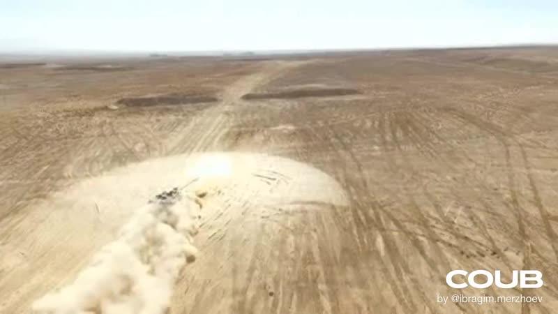 Выстрел Танка ударная и взрывная волна