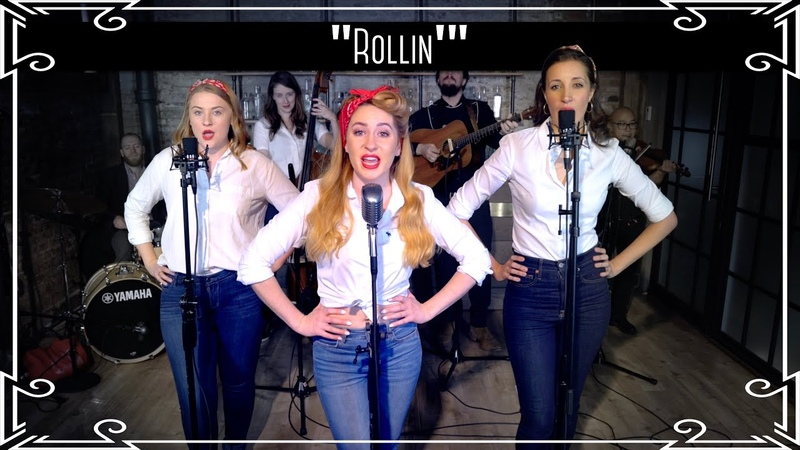 "Rollin'"" Limp Bizkit Country Cover by Robyn Adele Anderson ft Sarah Krauss Julianne Daly"