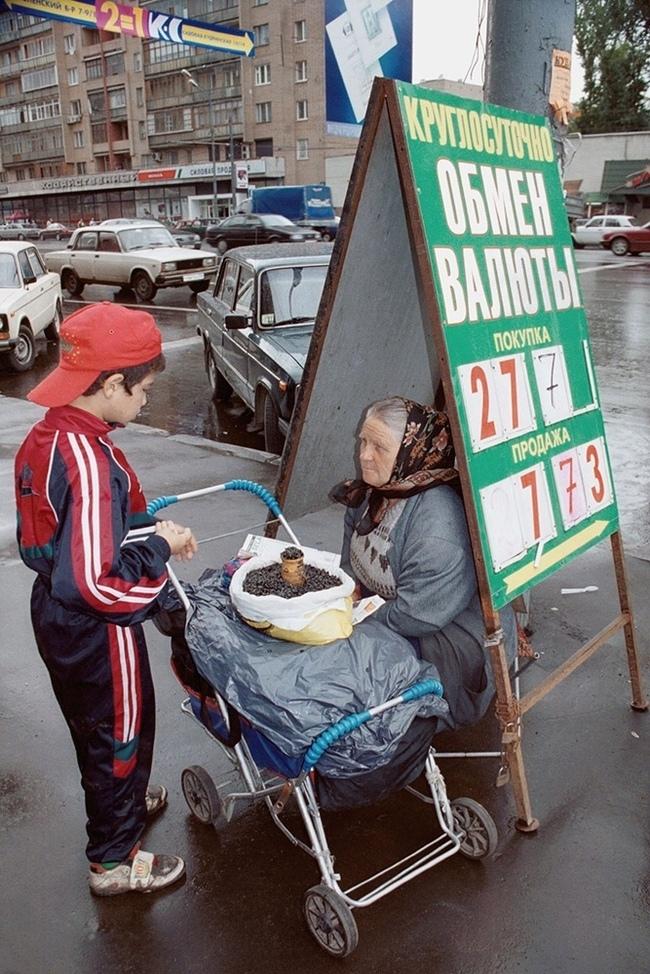 Интересные фотографии 90 -х (часть 7)