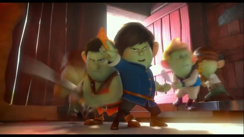 Мультфильм Красные туфельки и 7 гномов Red Shoes the 7 Dwarfs трейлер