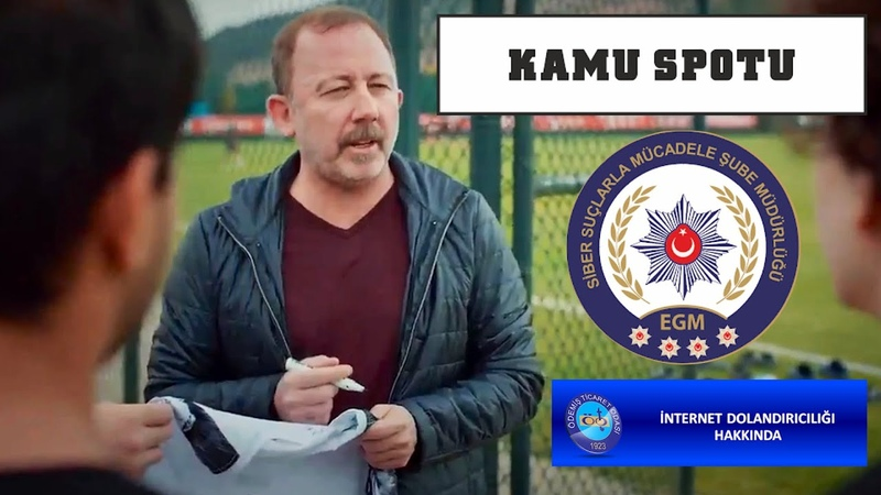 İnternet Dolandırıcılığına karşı Sergen Yalçın Kamu Spotu   Antalya Mis Halı