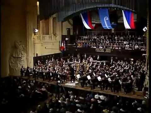 Rafael Kubelík Česká filharmonie Opening Concert of 1990 Prague Spring Festival