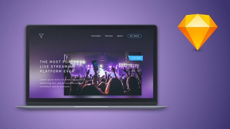 Sketch Tutorial – Create a web design in Sketch App