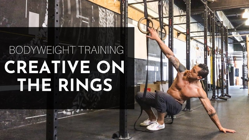 BODYWEIGHT TRAINING meets PRIMAL MOVEMENT: Creative on the Rings Series [Preview]