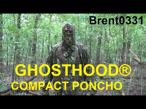 Ghost Hood Compact Poncho Review