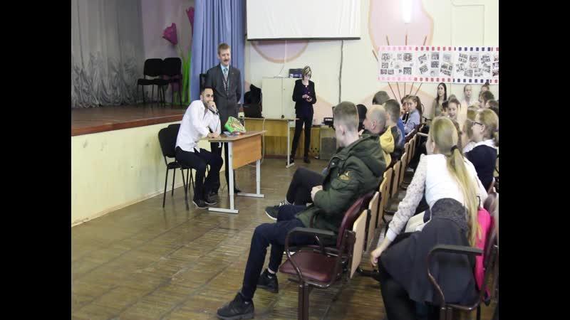 Встреча с Шахином Адыгезаловым , действующим Чемпионом Мира по боксу по версии UBO, школа 589