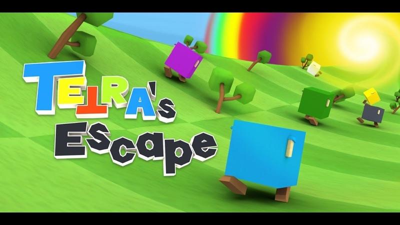 TETRA's Escape PS4/Vita. Прохождение на Платину 100% Platinum