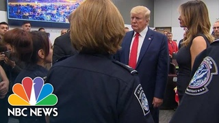 Donald Trump Meets El Paso Officer Whose Uncle Was Killed In Shooting | NBC News