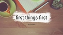 FIRST THINGS FIRST - SEVEN HABITS OF HIGHLY EFFECTIVE PEOPLE by COVEY (KINETIC TYPOGRAPHY)