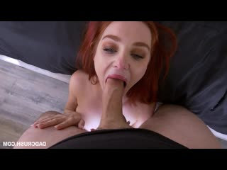 Lacy Lennon - Smashing A Cellphone Snoop [Redhead, Teen, Natural Tits, Big Ass, Petite, Straight, Facial, Lingerie, Stockings, S