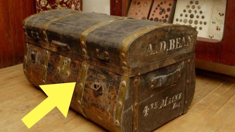 Семья никогда не верила рассказам своего деда пока не нашли странную коробку на его чердаке