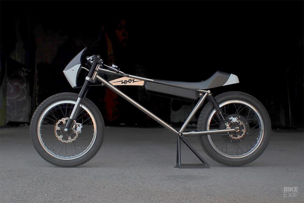 Zooz Bikes: концепт электроцикла Zooz Concept 01