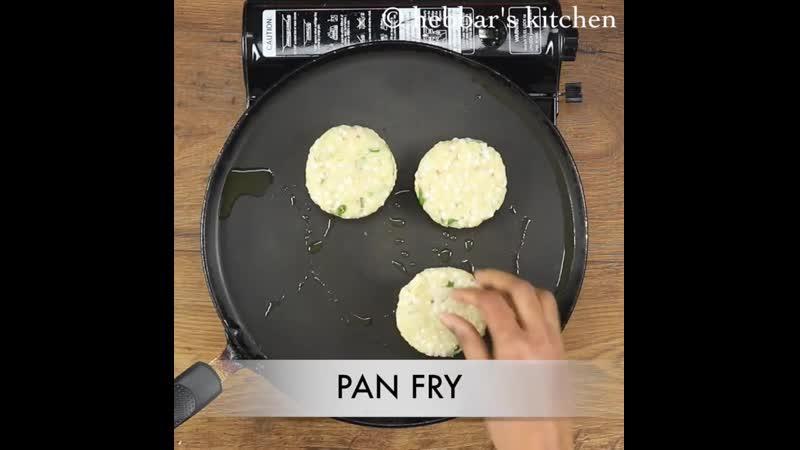 Sabudana tikki recipe - sabudana cutlet recipe