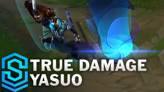 True Damage Yasuo Skin Spotlight - Pre-Release - League of Legends