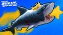 Hungry shark evolution Заглючила АКУЛА В КОСМОСЕ Мегалодон проплывает сквозь стены топ игра
