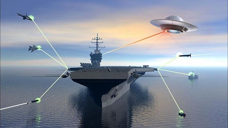 В России создают Лазер способный сбивать всё, что шевелится