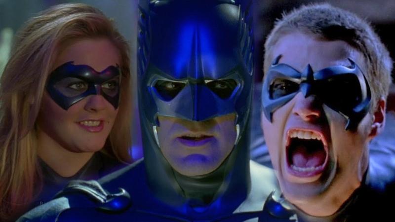 Бэтмен и Робин 1997. Худший фильм про Бэтмена