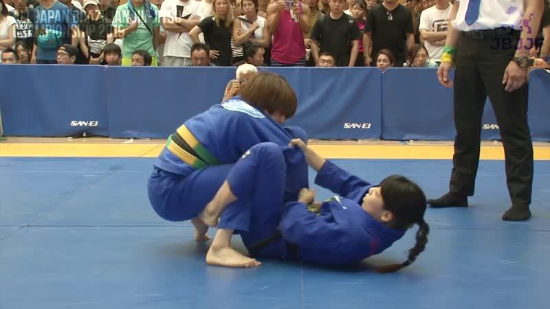 Saori Shibamoto vs Rikako Yuasa