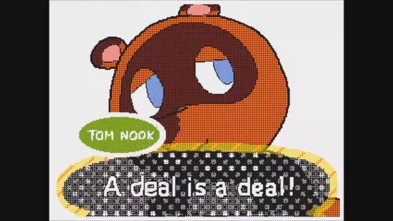 Tom Nook in new Animal Crossing