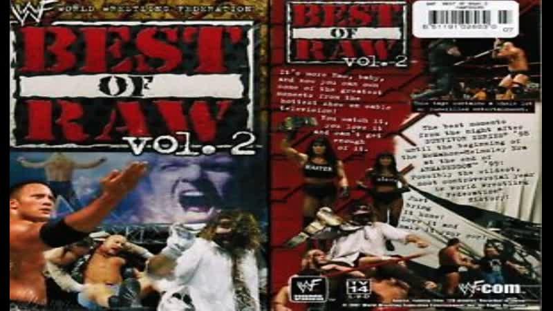 มวยปล้ำพากย์ไทย WWE The Best of Raw Vol. 2 ครับ พี่น้อง เครดิตไฟล์ กลุ่มมวยปล้ำพากย์ไทย
