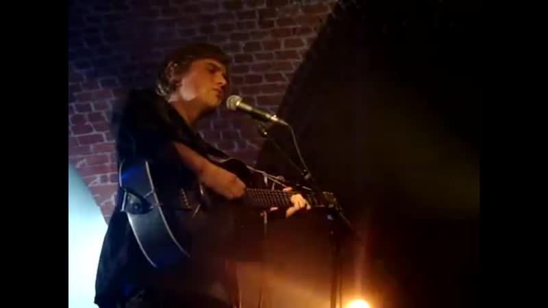 Johnny Flynn Churlish May acoustic live Botanique Brussels 23 November 2010