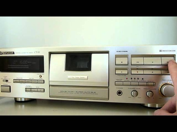 Pioneer CT-95 Reference Cassettedeck - MfD 1996