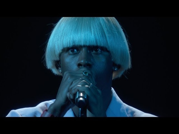 Tyler The Creator EARFQUAKE NEW MAGIC WAND Live at the 2020 GRAMMYs