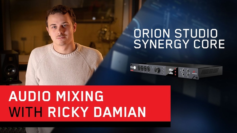 Ricky Damian - Mixing, Recording Producing Workflow with the Orion Studio Synergy Core