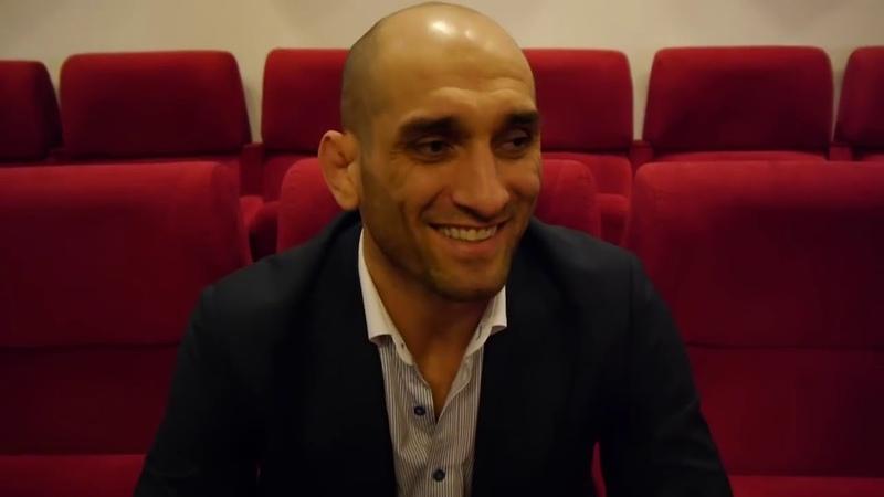 Адлан Амагов в Москве на ACB77