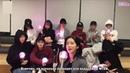 Трансляция WJSN Cosmic Girls представляют свой лайтстик 01 02 2018