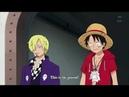 One Piece - Sanji saves Luffy and Regis HD