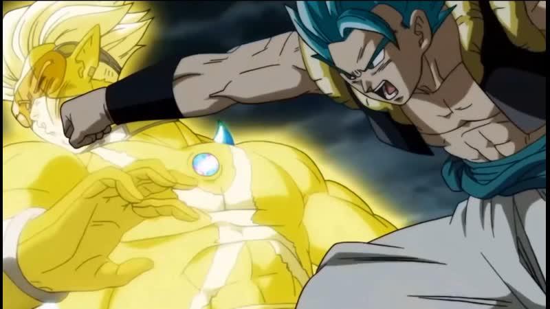 Dragon Boll Super Heroes Gogeta Blue Vs Hearts Golda Драконий Жемчуг Супер Герой Falling lnside The Black Крутой Клип