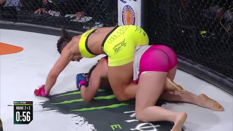 Джулия Бадд против Арлин Бленкоу Bellator 162