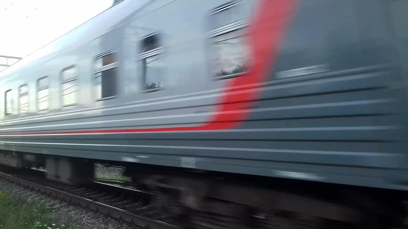 ТЭП70-0242. ОКТ. ЖД. ТЧЭ-14. Санкт-Петербург-Варшавский. Следует в Костомукшу. Петрозаводск.