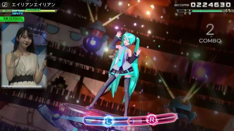 Hatsune Miku Project Diva MegaMix - TGS 2019 Gameplay (Sega Stage Day 4)