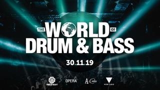 The World of Drum & Bass @ 30 Ноября 2019  A2 SPB RUSSIA