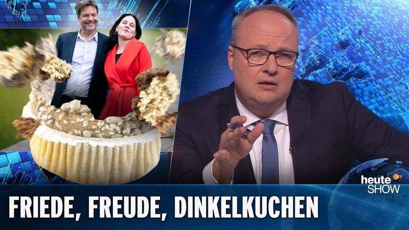 Streit Vertagt Der Gute Laune Parteitag der Grünen heute show vom 22 11 2019