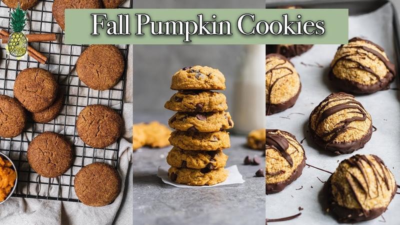Easy Pumpkin Cookie Recipes | Vegan and Gluten-free