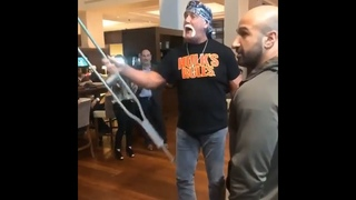 Full Video of HULK HOGAN In An Altercation With A Fan