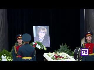 Путин посетил церемонию прощания с Вербицкой