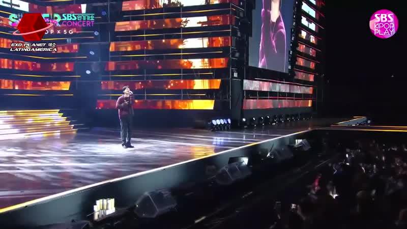 SUB ESP 191006 SBS Incheon Red Carpet Super Concert EXO Chen смотреть онлайн без регистрации