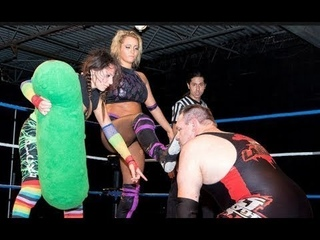Maria Manic & Sammi Pickles vs  DJ Hyde  feet Fettish feet worship femdom