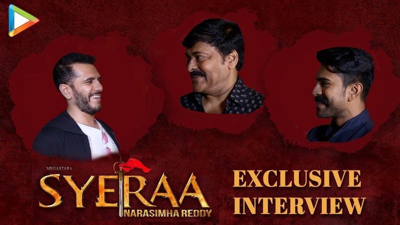 "EXCLUSIVE Chiranjeevi THANKS to Baahubali we could…"" Sye Raa Ram Charan Ritesh"
