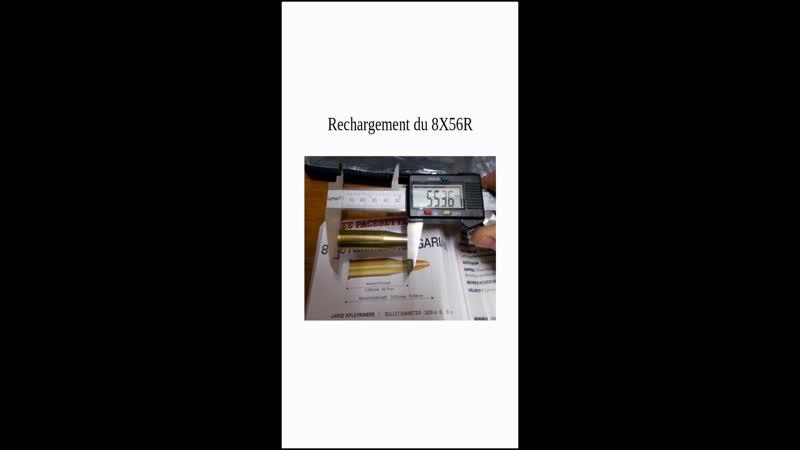 Préparation des étuis neufs en calibres militaria 1 2